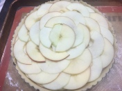 apple crisp tart 3